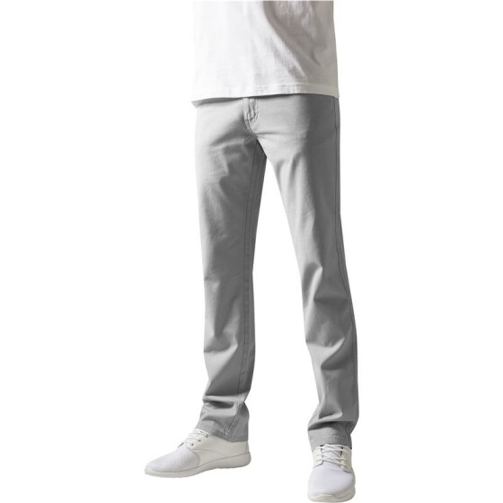 Urban Classics 5 Pocket Pants, lightgrey 30