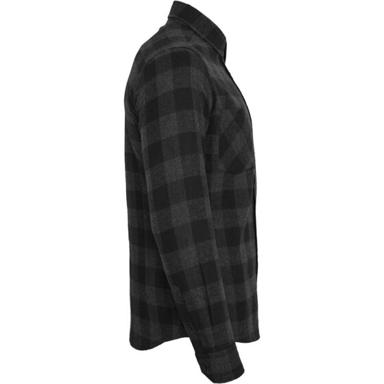 Urban Classics Checked Flanell Shirt, blk/cha S