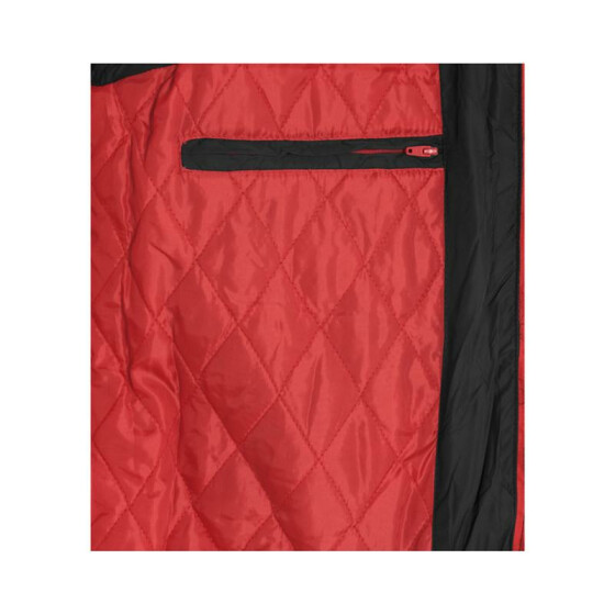 Urban Classics Contrast Bubble Vest, blk/red L