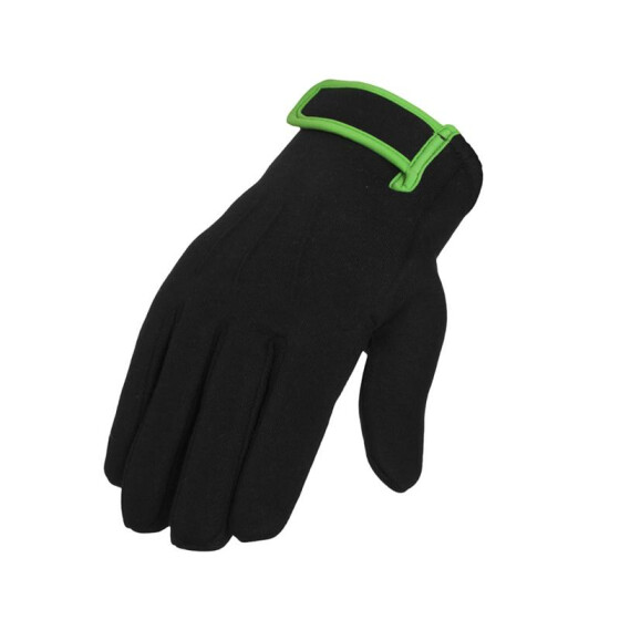 Urban Classics 2-tone Sweat Gloves, blk/lgr L/XL