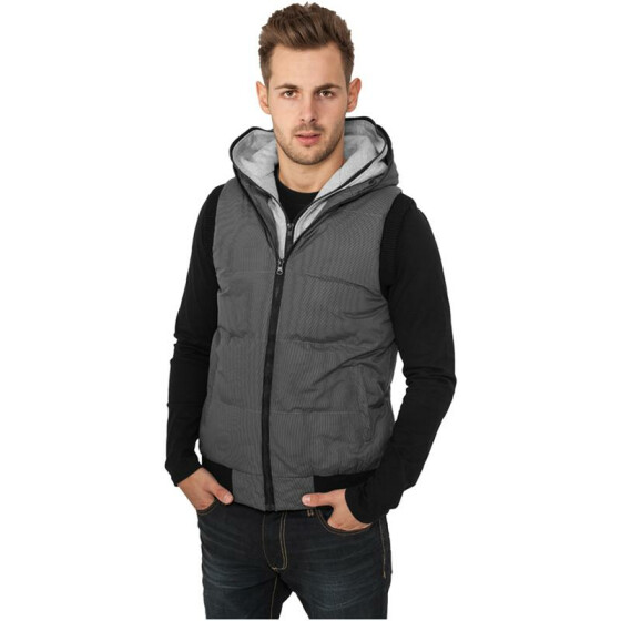Urban Classics Double Hooded Vest, original L