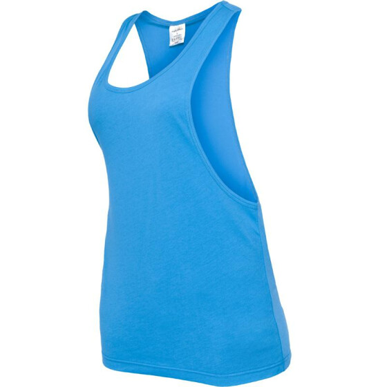 Urban Classics Ladies Loose Tank, turquoise XL