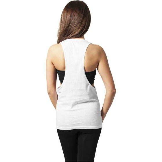 Urban Classics Ladies Loose Tank, white S