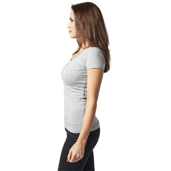 Urban Classics Ladies Basic Tee, grey S