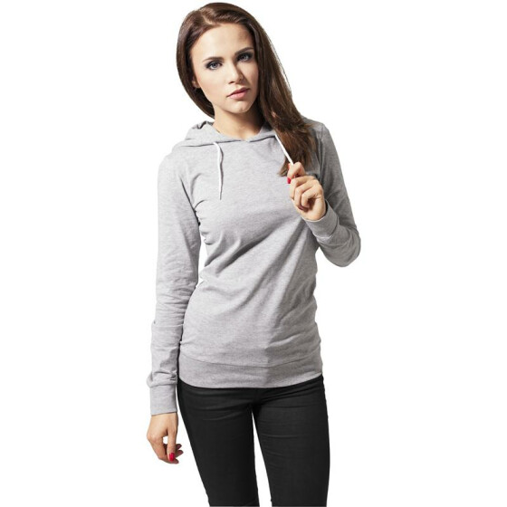 Urban Classics Ladies Jersey Hoody, grey S