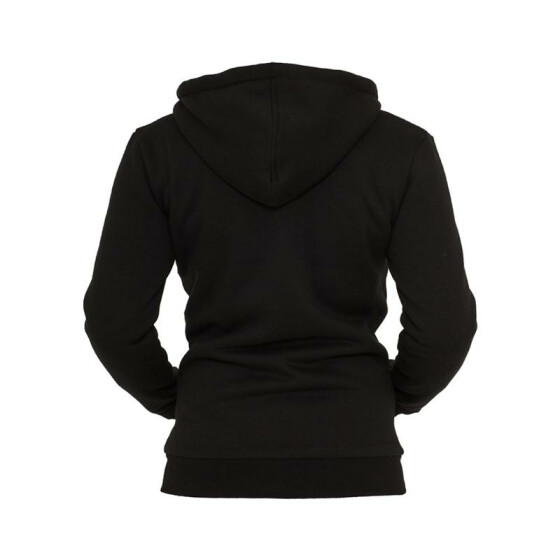Urban Classics Ladies Winter Zip Hoody, blk/wht XL