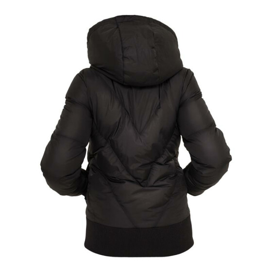 Urban Classics Ladies Arrow Winter Jacket, black L