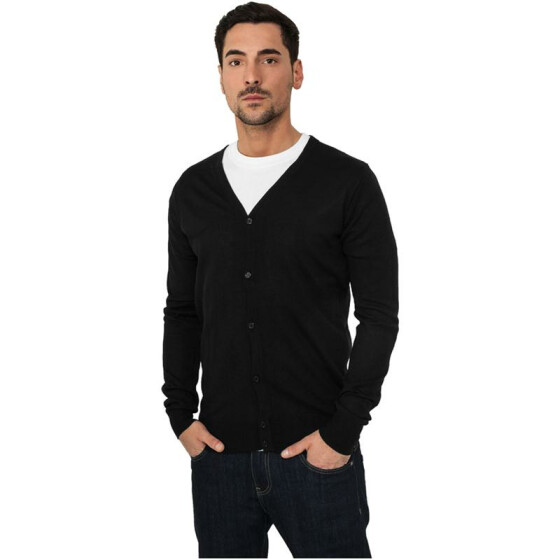 Urban Classics Knitted Cardigan, black L