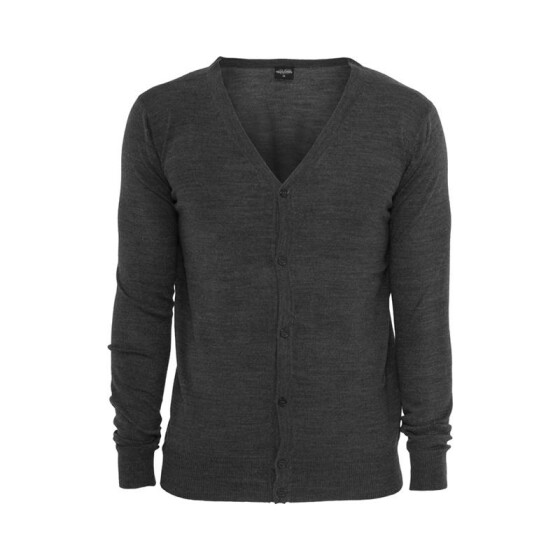Urban Classics Knitted Cardigan, charcoal S