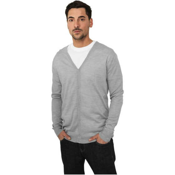 Urban Classics Knitted Cardigan, grey S