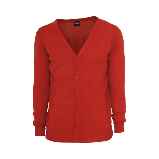 Urban Classics Knitted Cardigan, red M