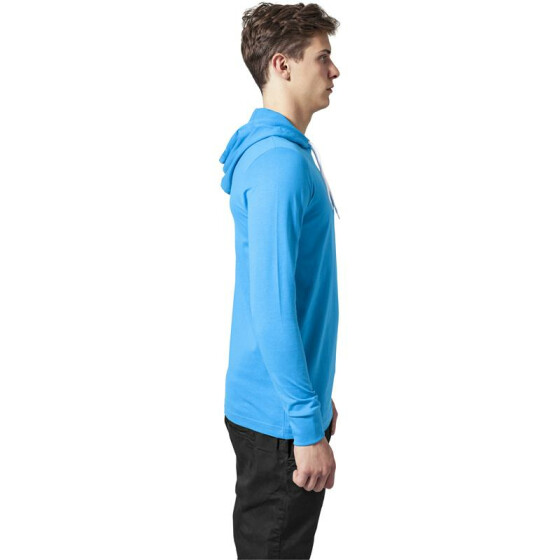Urban Classics Jersey Hoody, turquoise L