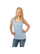 Urban Classics Ladies Faded Tanktop, skyblue S