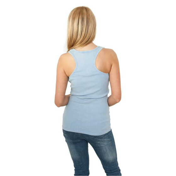 Urban Classics Ladies Faded Tanktop, skyblue M