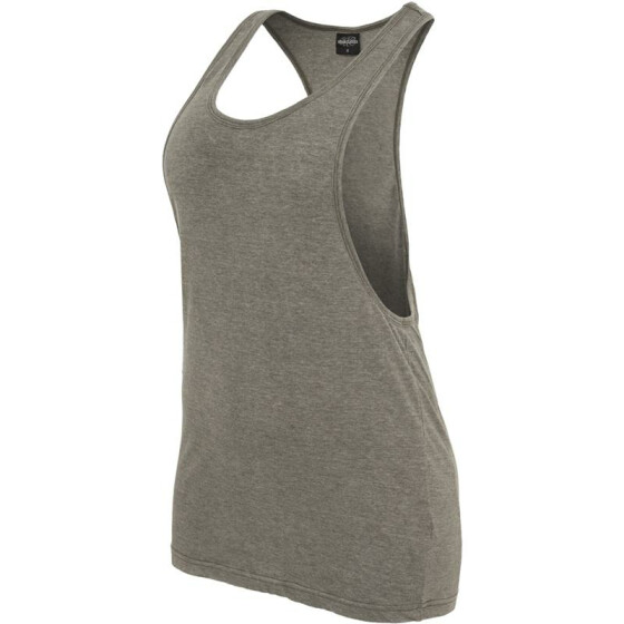Urban Classics Ladies Loose Burnout Tank, olive XS