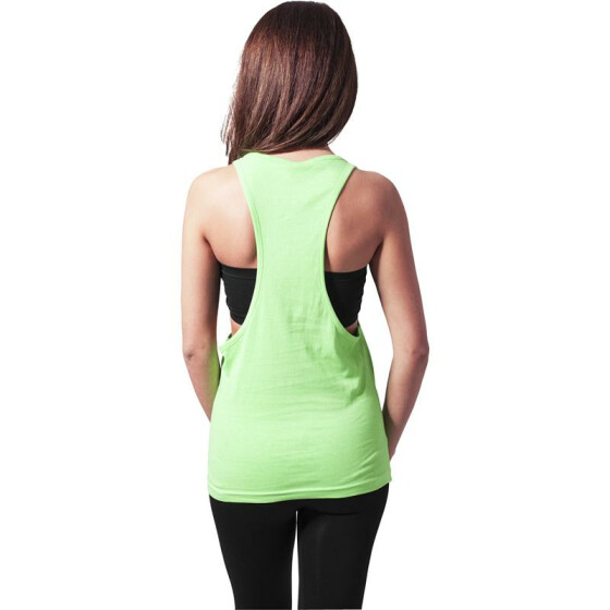 Urban Classics Ladies Loose Neon Tanktop, neongreen S
