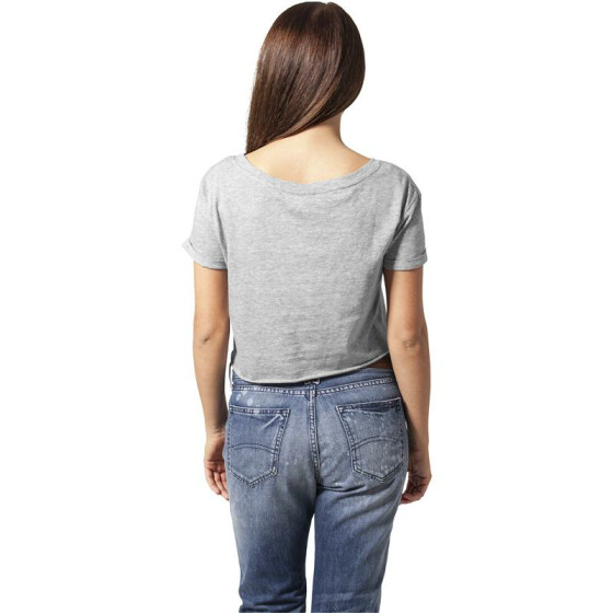 Urban Classics Ladies Short Tee, grey S