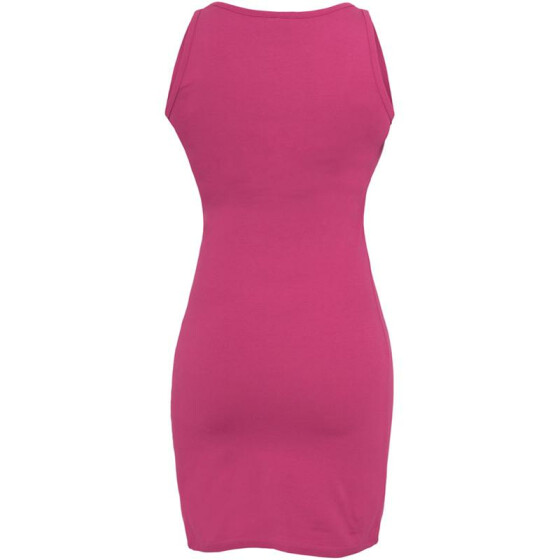 Urban Classics Ladies Sleeveless Dress, fuchsia S