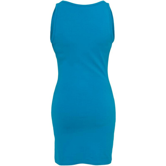 Urban Classics Ladies Sleeveless Dress, turquoise XL