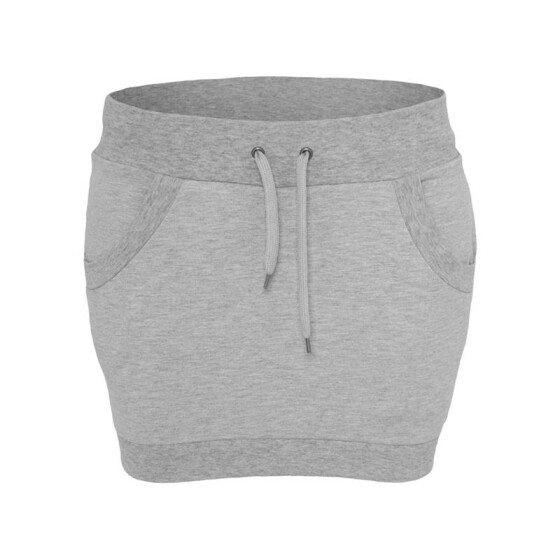 Urban Classics Ladies French Terry Skirt, grey XS