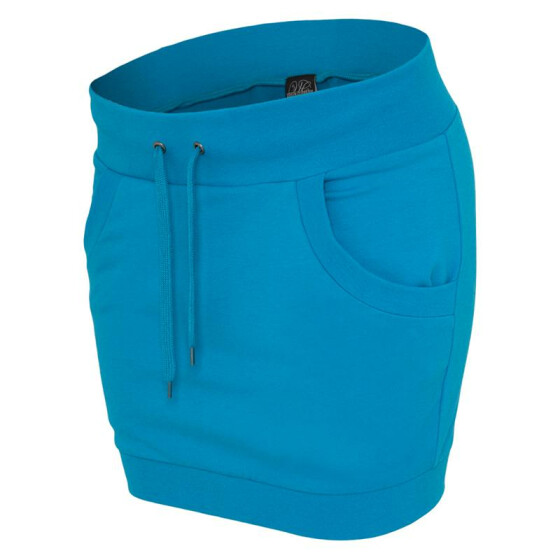 Urban Classics Ladies French Terry Skirt, turquoise S
