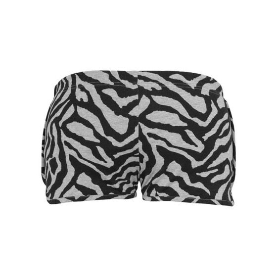 Urban Classics Ladies Zebra Hotpants, gry/blk S
