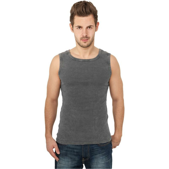 Urban Classics Faded Tanktop, darkgrey M
