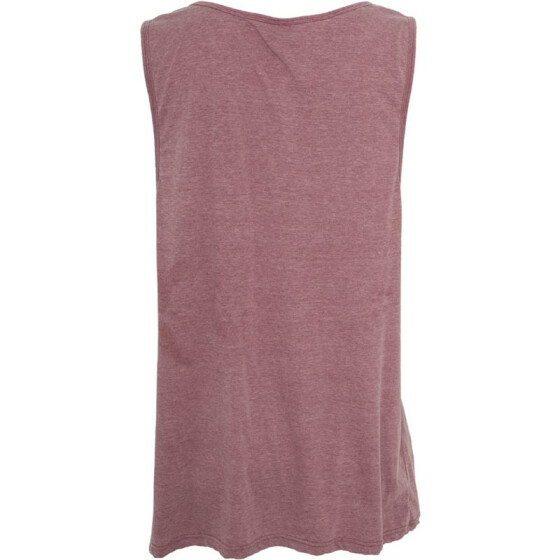 Urban Classics Burnout Jersey Big Tank, ruby XL