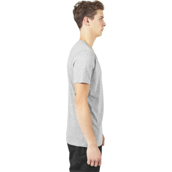 Urban Classics V-Neck Pocket Tee, grey XL