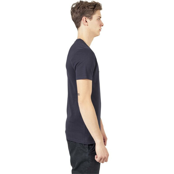 Urban Classics V-Neck Pocket Tee, navy L