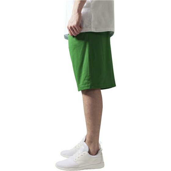 Urban Classics BBall Mesh Shorts with Pockets, c.green L