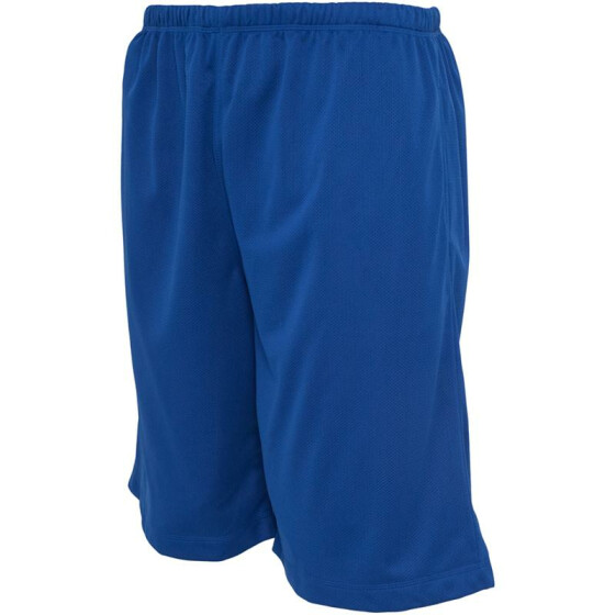 Urban Classics BBall Mesh Shorts with Pockets, royal XL