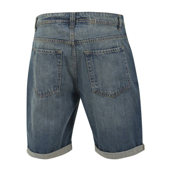 Urban Classics Fitted Denim Shorts, lightblue 28