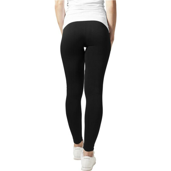 Urban Classics Ladies PA Leggings, black M