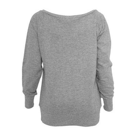 Urban Classics Ladies Wideneck Crewneck, grey XS