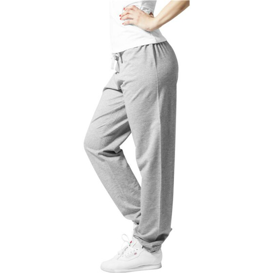 Urban Classics Ladies Fitted Sweatpant, grey M