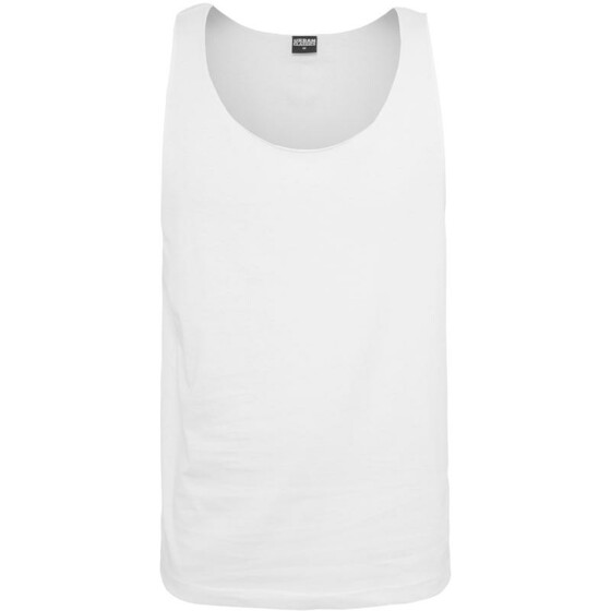 Urban Classics Open Edge Loose Tank, white M