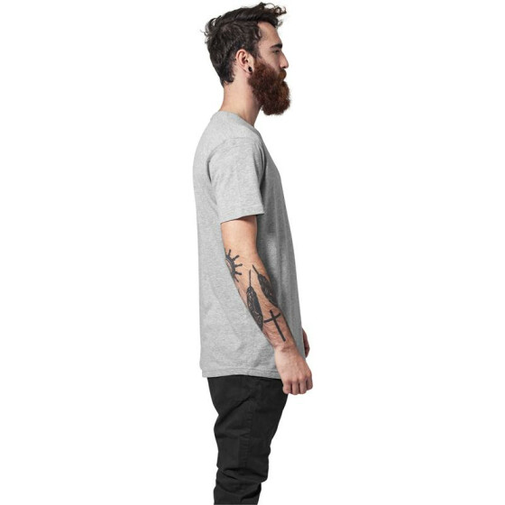 Urban Classics Shaped Long Tee, grey XL