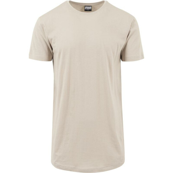 Urban Classics Shaped Long Tee, sand 2XL