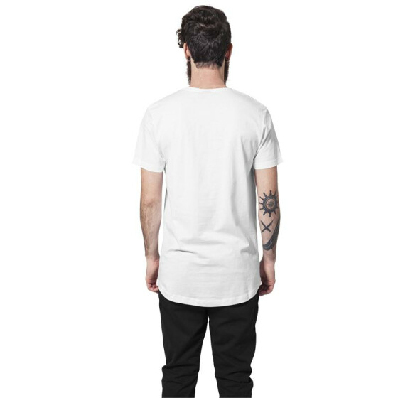 Urban Classics Shaped Long Tee, white L