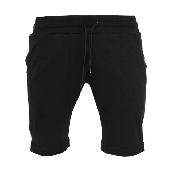 Urban Classics Light Turnup Sweatshorts, black L