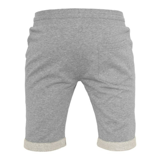 Urban Classics Light Turnup Sweatshorts, grey M