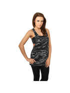 Urban Classics Ladies Camo Loose Tank, urban camo M