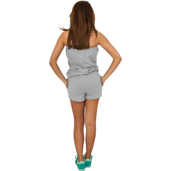 Urban Classics Ladies Hot Jumpsuit, grey M