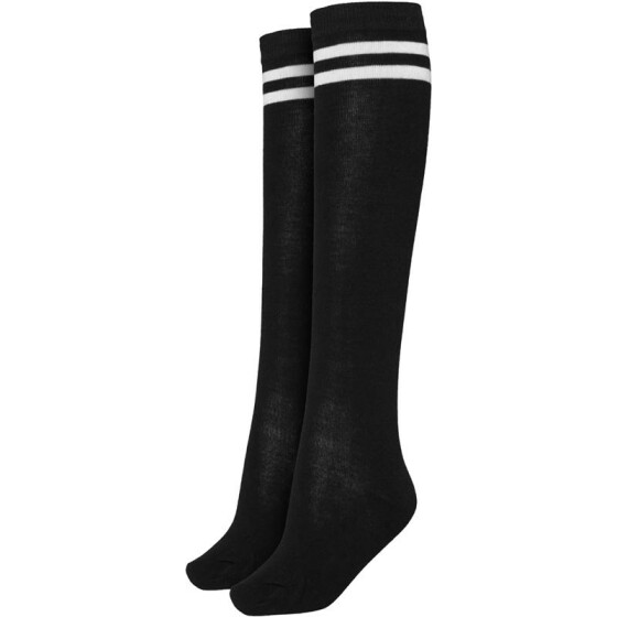Urban Classics Ladies College Socks, blk/wht 40-42