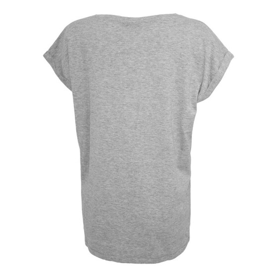 Urban Classics Ladies Extended Shoulder Tee, grey XL