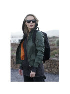 Urban Classics Ladies Basic Bomber Jacket, olive S
