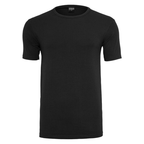 Urban Classics Fitted Stretch Tee, black XXL