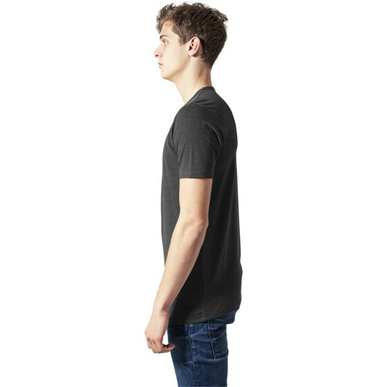 Urban Classics Fitted Stretch Tee, charcoal L
