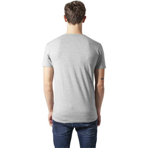 Urban Classics Fitted Stretch Tee, grey XL